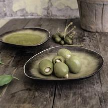 Pure Oval Bowl Small - Green
