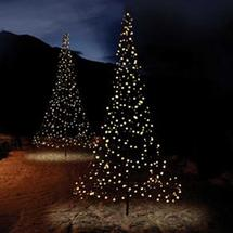 3D 3m Christmas Tree with Ice White Twinkling LED lights