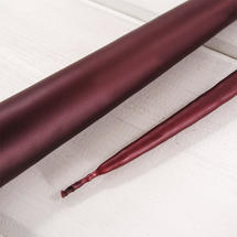 Pair of Deep Claret Taper Candles 42cm