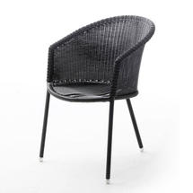 Trinity chair, stackable - Graphite