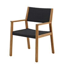 Maze Dining Chair with Arms - Flint Rope