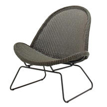 Bepal Lounge Chair - Meteor/Licorice