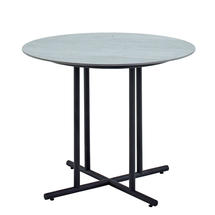 Whirl 90cm Dining Table Pumice Ceramic  - Meteor