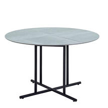 Whirl 120cm Dining Table Pumice Ceramic  - Meteor