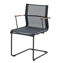 Sway Meteor Stacking Armchair - Grey Sling
