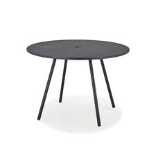 Area Round Dining Table 110cm - Lava Grey