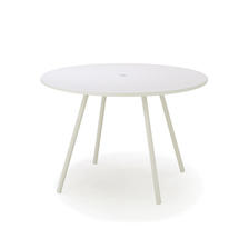 Area Round Dining Table 110cm - White