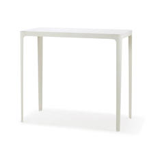 Cut High Bar Table - White