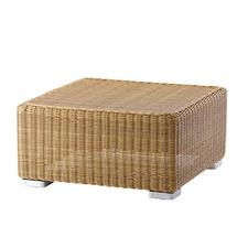 Chester Outdoor Footstool - Natural
