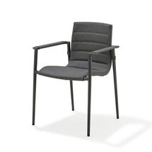 Core Dining Armchairs - Lava Grey / Grey