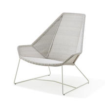 Breeze Highback Chair - White/Grey