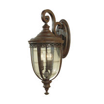 English Bridle Medium Wall Lantern - Bronze