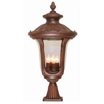 Chicago Pedestal Lantern - Large