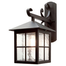 Winchester Scroll Down Wall Lantern