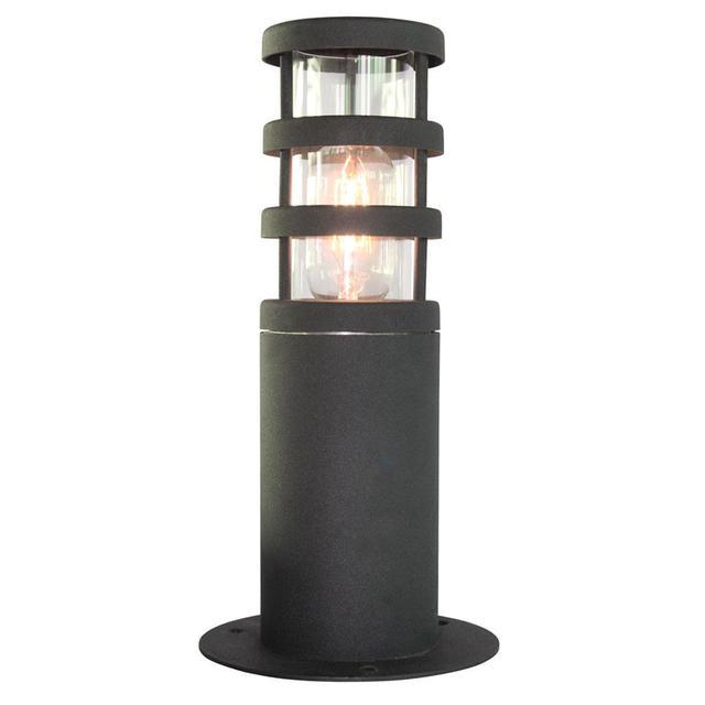 Elstead York Pedestal Lantern Light Black: Buy Hornbaek Outdoor Pedestal Lantern By Elstead Lighting