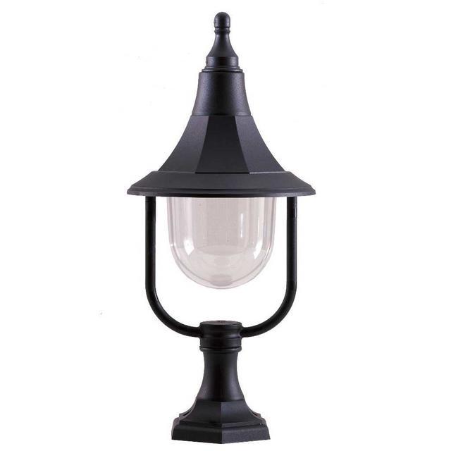 Buy Shannon Outdoor Pedestal Lantern By Elstead Lighting