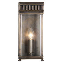 Holborn Small Wall Lantern - Dark Bronze