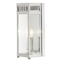 Holborn Small Wall Lantern - Polished Chrome