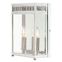 Holborn Wall Lantern - Polished Chrome