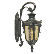 Philadelphia Outdoor Small Down Wall Lantern - Old Bronze