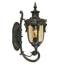 Philadelphia Outdoor Medium Up Wall Lantern - Old Bronze
