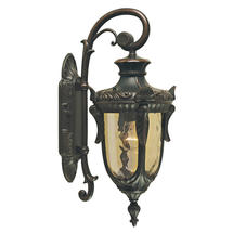 Philadelphia Outdoor Medium Down Wall Lantern - Old Bronze
