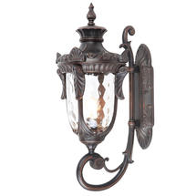 Philadelphia Outdoor Large Up Wall Lantern - Old Bronze