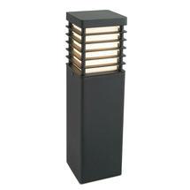 Halmstad Bollard Lantern Medium -Black