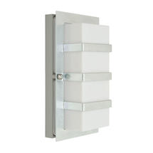 Boden Wall Lantern - Galvanised/Clear