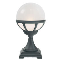 Bologna Pedestal Lantern - Black