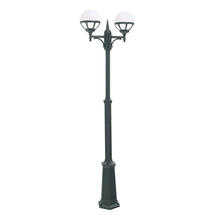 Bologna Twin Post Lantern - Black