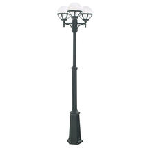 Bologna Triple Post Lantern - Black