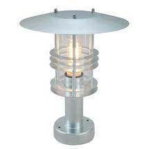 Stockholm Pedestal Lantern - Galvanised