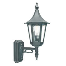 Rimini Up Wall Lantern - Black