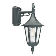 Rimini Down Wall Lantern - Black
