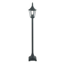 Rimini Pillar Lantern - Black