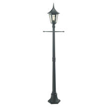 Rimini Post Lantern - Black