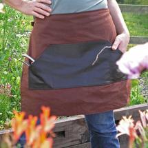 Gardener's Half Apron - Chestnut