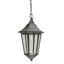 Valencia Grande Hanging Lantern - Black