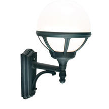 Bologna Up Wall Lantern - Black