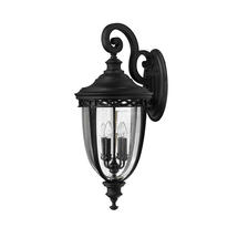 English Bridle Extra Large Wall Lantern - Black