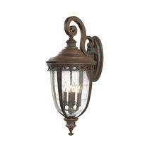English Bridle Extra Large Wall Lantern - Bronze