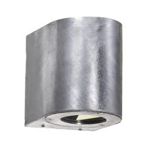 Canto Up/Down Wall Light - Galvanized