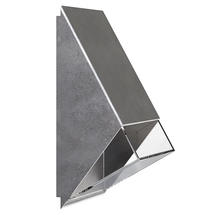 Edge Wall Light - Galvanised