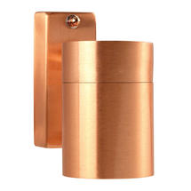 Tin Outdoor Wall Light - Copper