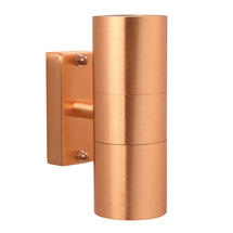 Tin LED Up/Down Wall Light - Copper