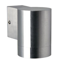 Tin Maxi Wall Light - Stainless Steel