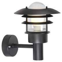 Lonstrup 22 Wall Light - Black