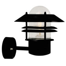 Blokhus Up Wall Light - Black