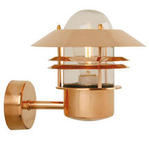 Blokhus Up Wall Light - Copper